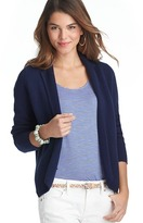 LOFT Notched Collar Sweater Jacket
