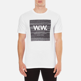 Wood Wood Men's Square TShirt - White