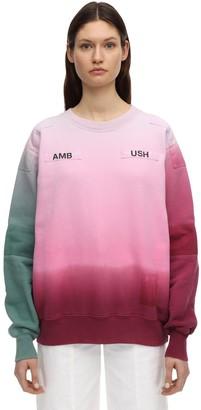 Ambush Degrade Print Cotton Sweatshirt