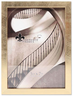 """Lawrence Frames Chloe Contemporary Gold Picture Frame - 5"""" x 7"""""""