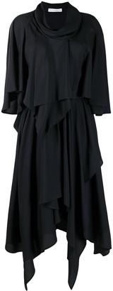 J.W.Anderson Belted Asymmetric Dress
