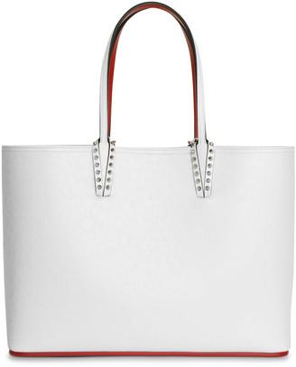 Christian Louboutin Cabata large white tote bag