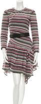 Marc Jacobs Brocade Pleated Dress
