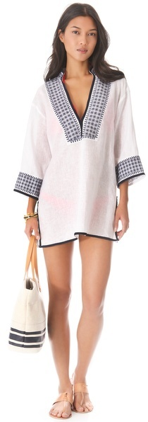 Tory Burch Pearl Tunic Cover Up