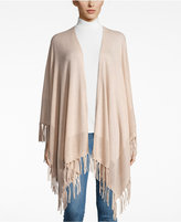Charter Club Cashmere Fringe Wrap Cardigan, Only at Macy's