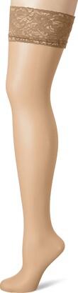 Fiore Women's Milena/Sensual Hold - up Stockings 20 DEN
