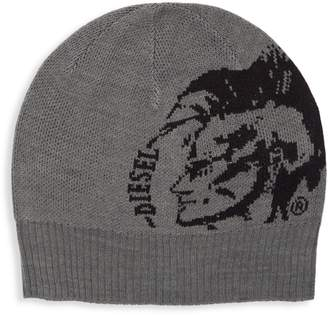 Diesel Graphic Knit Beanie