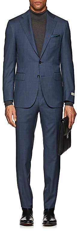 Canali Men's Capri Wool-Silk Two-Button Sportcoat