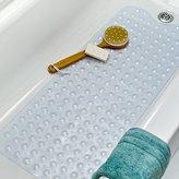 Extra Long Vinyl Bath Mat - Clear