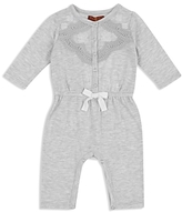 7 For All Mankind Girls' Lace Top Coverall - Baby