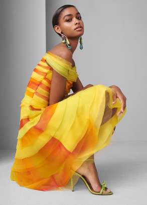 Ralph Lauren Docia Off-the-Shoulder Dress