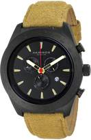 Akribos XXIV Men's AK701TN Essential Analog Display Swiss Quartz Beige Watch