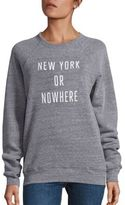 Knowlita New York Or Nowhere Graphic Sweatshirt