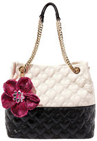 Betsey Johnson Be My Better Half North South Tote