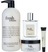 philosophy A-D fresh cream 4-piece layering setAuto-Delivery