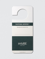 retaW Natural Mystic Room Tag