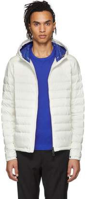 Moncler SSENSE Exclusive White Down Dreux Jacket