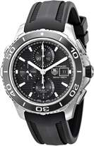 Tag Heuer Men's CAK2110.FT8019 Aquaracer 500 Analog Display Swiss Automatic Watch