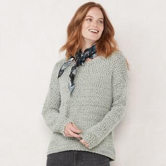 Lauren Conrad Women's Puff Sleeve Sweater
