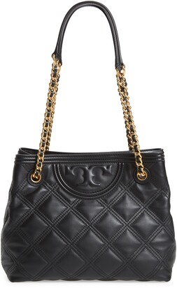 Tory Burch Fleming Soft Quilted Leather Tote