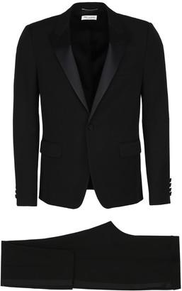 Saint Laurent Virgin Wool Two Piece Suit