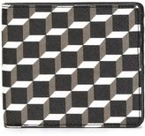 Pierre Hardy 'Canvas Cube' wallet - unisex - Leather - One Size