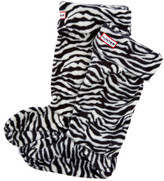 Hunter Zebra Fleece Welly Socks