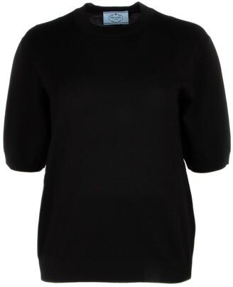 Prada Short Sleeves Pullover