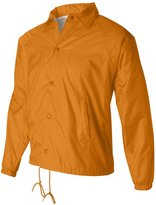 Augusta Drop Ship Lined Nylon Coach's Jacket - L
