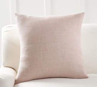 Pottery Barn Belgian Linen Pillow Cover - Old Rose