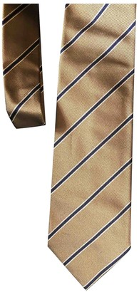 Bigi Gold Silk Ties