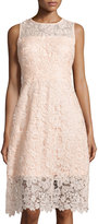 Julia Jordan Lace Sleeveless Fit & Flare Dress, Rose