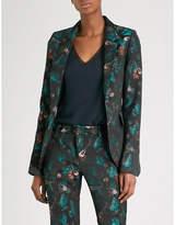 Zadig & Voltaire Very jungle-jacquard blazer