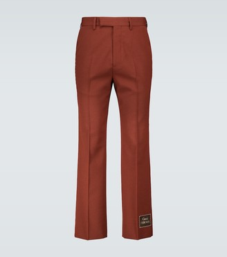 Gucci Eterotopia wool-blend pants