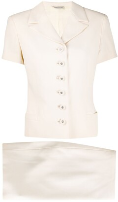 Versace Pre-Owned 1990s Short-Sleeve Suit