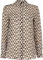 Max Mara Weekend NARSETE longsleeve abrstract print shirt