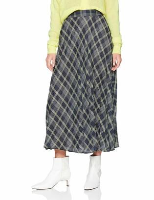 New Look Women's Lennox Check Midi6162060 Skirt