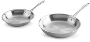 """Calphalon Tri-Ply 8"""" & 10"""" Fry Pan Set"""