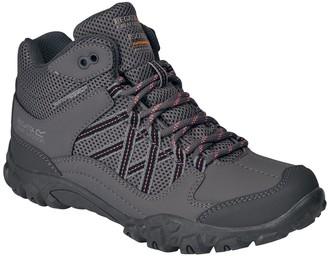 Regatta Edgepoint Mid Junior Walking Boot - Grey Lime