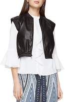 BCBGMAXAZRIA Ace Faux-Leather Vest