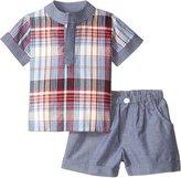 Masala Baby 2 Piece Tabla Tunic Set (Baby) - Multi Check-18-24 Months