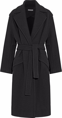 IRO Belted Wool-blend Coat