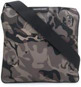 Alexander McQueen camouflage messenger bag