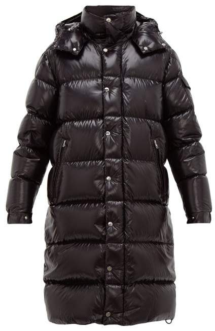 de5d24f52 Hanoverian Hooded Quilted Down Coat - Mens - Black