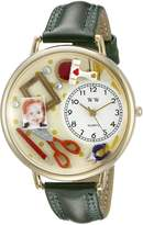 Whimsical Watches Women's G0410008 Scrapbook Red Leather Watch