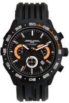 Jorg Gray Men's Quartz Watch JG1600-13 with Rubber Strap