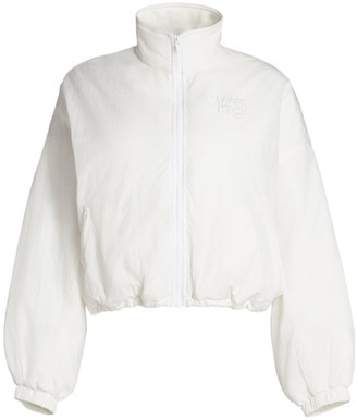 Alexander Wang Embroidered Zip Track Jacket