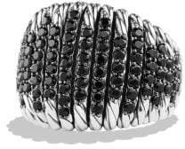 David Yurman Tempo Ring With Black Spinel