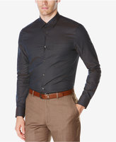 Perry Ellis Men's Big & Tall Micro-Check Shirt
