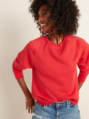 Old Navy Vintage Crew-Neck Sweatshirt for Women